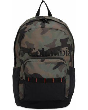 Plecak z nylonu z printem Columbia