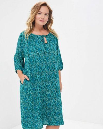 Платье весеннее зеленый Sparada
