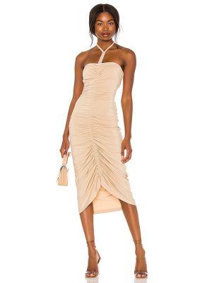 Платье с декольте Ronny Kobo