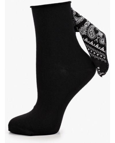 Черные укороченные носки Calzedonia