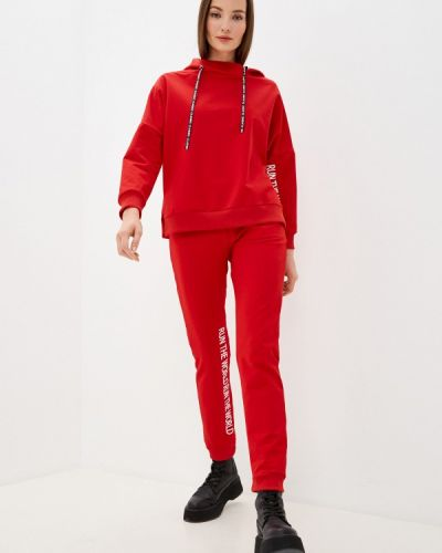 Костюмный красный спортивный костюм Winzor