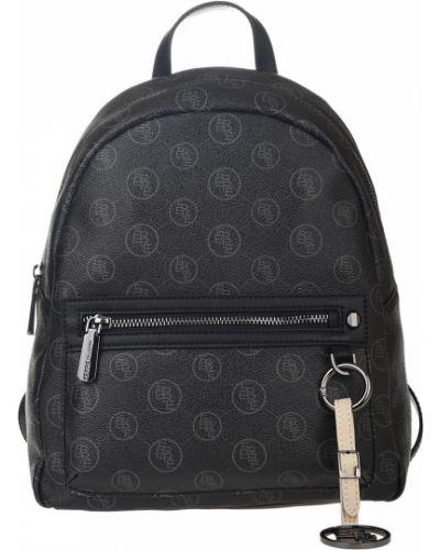 Кожаный рюкзак - черный Ferre Collezioni