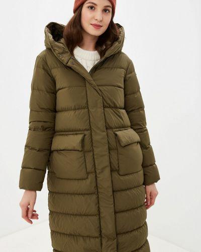 Зимняя куртка осенняя зеленая Geox