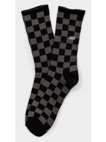 С завышенной талией черные хлопковые носки Vans