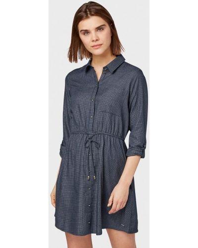 Платье платье-рубашка весеннее Tom Tailor Denim