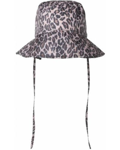 Brązowa kapelusz Munthe