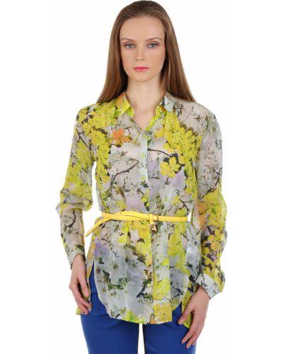 Блузка шелковая весенний Luisa Cerano