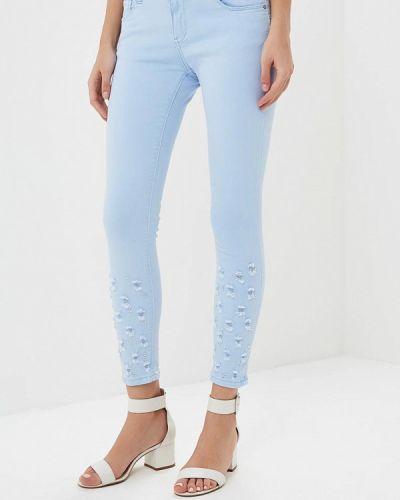 Голубые брюки B.style
