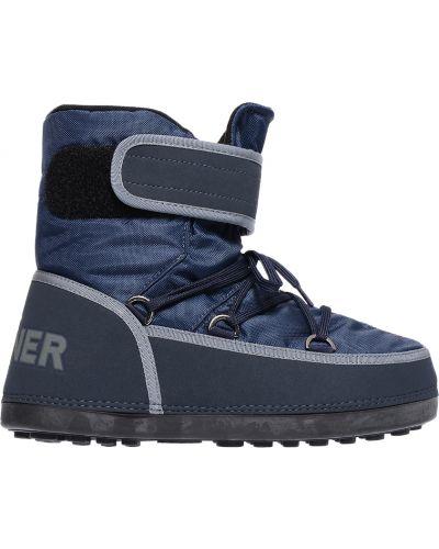 Синие сапоги Bogner