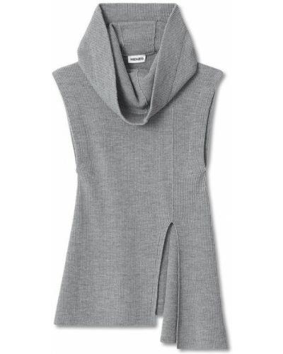 Sweter bez rękawów asymetryczny Kenzo