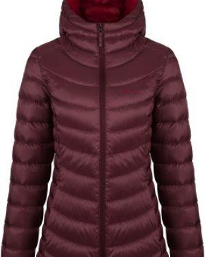 Приталенная теплая розовая куртка с капюшоном на молнии Outventure