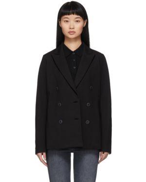 Пиджак черный в полоску Rag & Bone