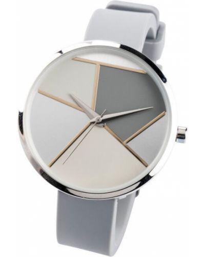 Часы серые серебряный Bonprix