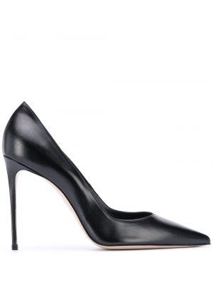Лодочки на каблуке - черные Le Silla