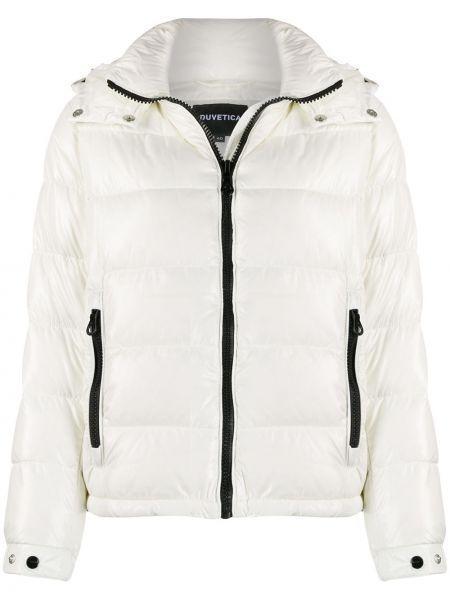Куртка с капюшоном с карманами пуховый Duvetica