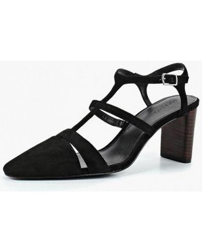 Туфли на каблуке замшевые осенние Mango