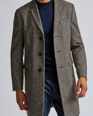 Пальто серое Burton Menswear London
