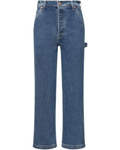 С завышенной талией прямые джинсы с карманами Levi's Red Tab