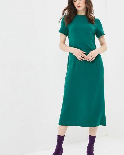 Платье осеннее зеленый Elena Kulikova