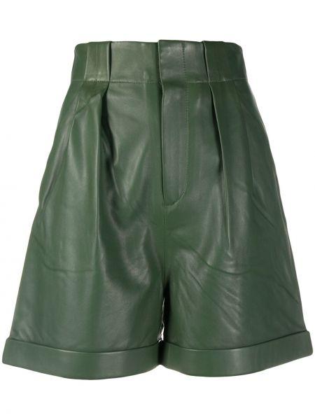 Кожаные шорты с карманами с отворотом Equipment
