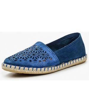 Синие эспадрильи испанские Dali