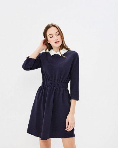 Платье весеннее синее Art Love