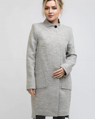 Пальто демисезонное серое Rosso-style