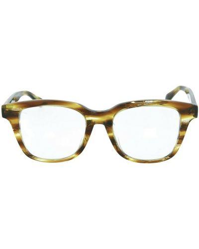 Żółte okulary Brioni