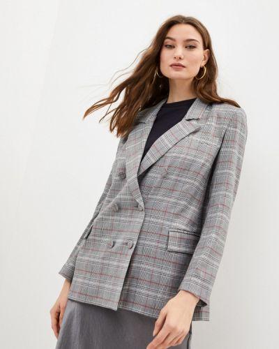 Серый пиджак Blugirl Folies