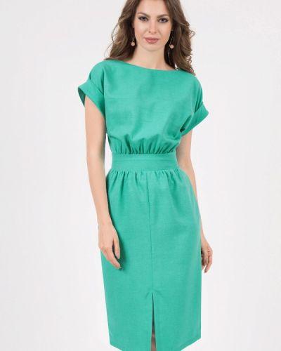 Повседневное платье бирюзовый оливковый Olivegrey