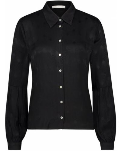Czarna bluza zapinane na guziki Freebird