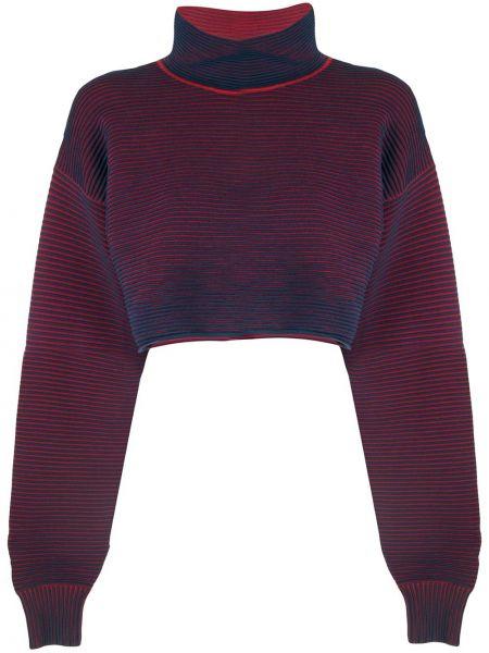Niebieski sweter bawełniany Nagnata