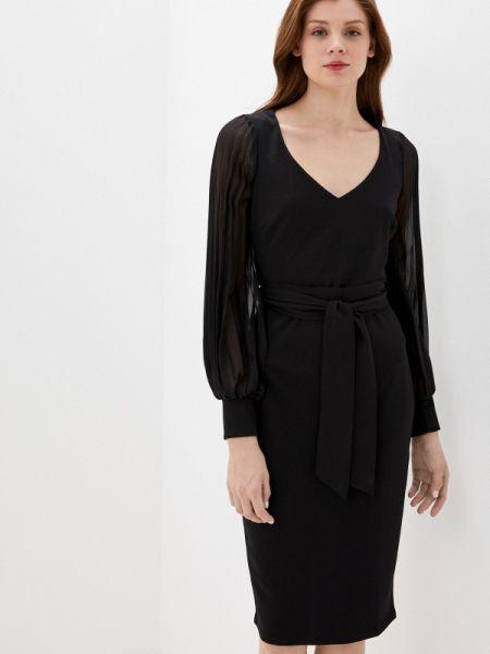 Платье футляр черное City Goddess