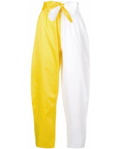 Укороченные брюки с завышенной талией с поясом Mara Hoffman