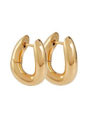 Серьги-гвоздики золотые Balenciaga