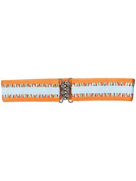 Оранжевый ремень металлический с пряжкой с поясом Missoni