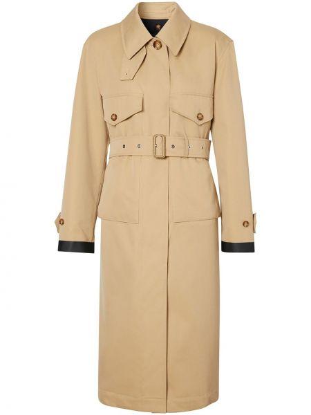 Пальто классическое с воротником с карманами на пуговицах Burberry