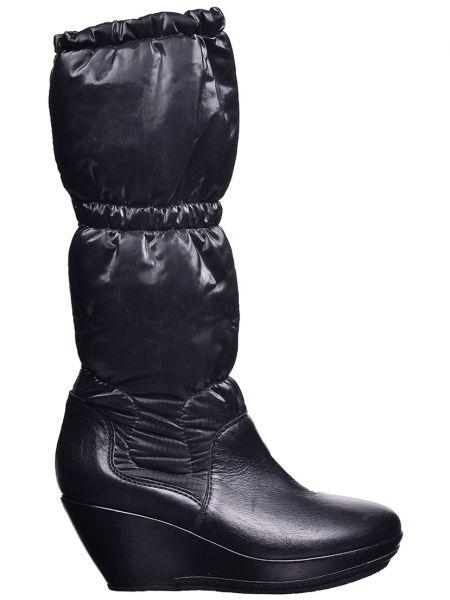 Кожаные сапоги - черные Vic Matie