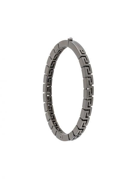Srebro bransoletka metal Versace