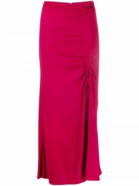 Spódnica z wysokim stanem - fioletowa Pinko