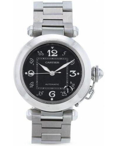 Серебряные часы Cartier