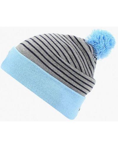 Голубая шапка осенняя Nike