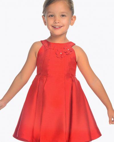 Платье однотонное хлопковое Mayoral