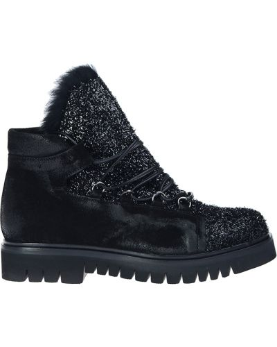 Кожаные ботинки осенние из нубука Fru.it