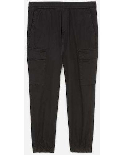 Czarne jeansy dresowe Marc O Polo