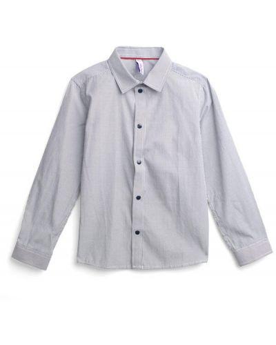 Рубашка на кнопках хлопковая School By Playtoday