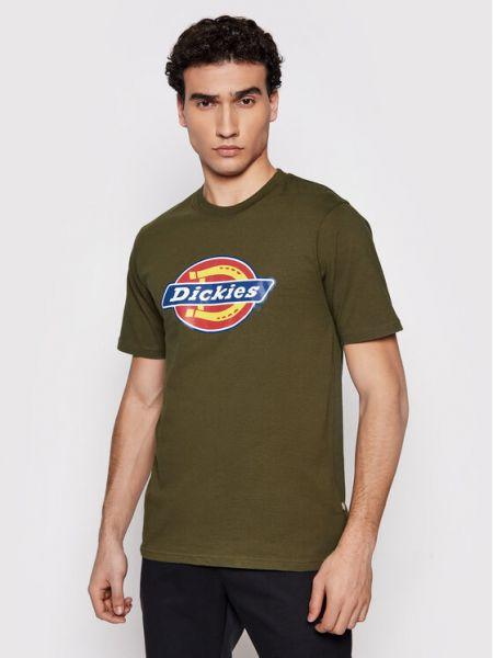 T-shirt - zielona Dickies