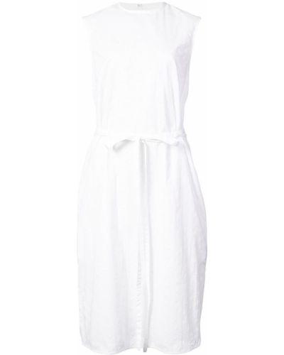 Платье с поясом на шнуровке с вырезом Calvin Klein 205w39nyc