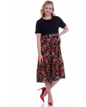 Платье платье-сарафан с оборками Lautus