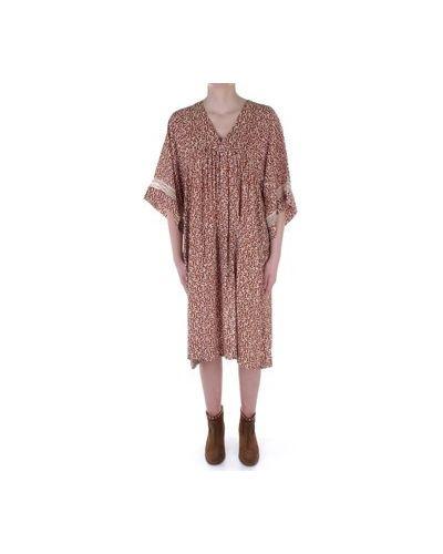 Beżowa sukienka mini Beatrice B